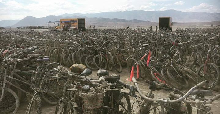 Burning Man leave no trace